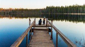 Мостки в Финляндии