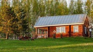 Здание Администрации с общественной гостиной в Финляндии