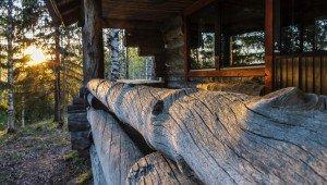 финская Эко-Арт Вилла Терраса с видом