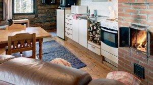 Эко-Арт Вилла Кухня-столовая в Финляндии